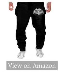 MULY Men's Parkour Body Art Sweatpants Long Sport Pants