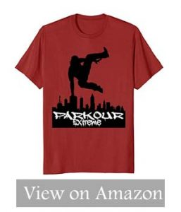 Parkour Clothing – Parkour T-shirt updated