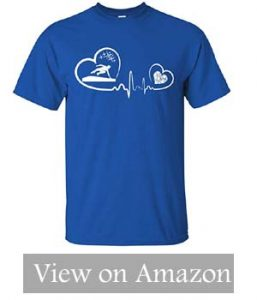Parkour Freerunning Heartbeat T-Shirt Funny Parkour Running updatede