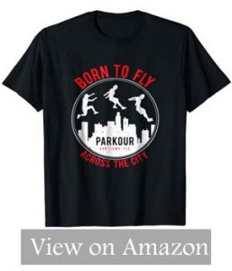 Parkour Freerunning T-Shirt – Funny Parkour Running
